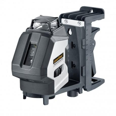 تراز لیزری با خطوط عمود180درجه و خط افق 360 درجه با دونقطه ی شاقول بالا و پایین MasterCross-Laser360