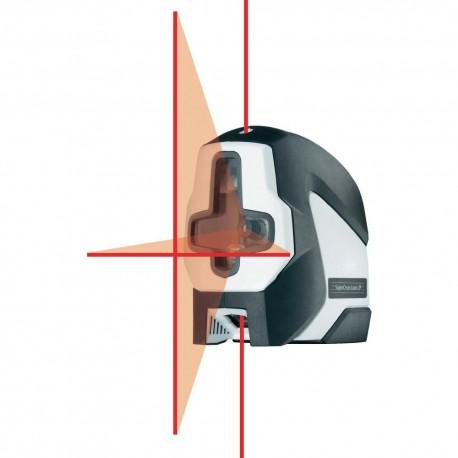 تراز لیزری با خطوط عمود و افق180درجه بهمراه 2نقطه شاقول لیزری SuperCross-Laser 2P