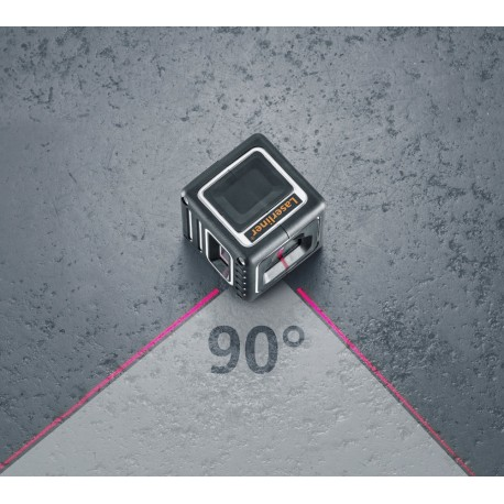 تراز لیزری  با دوخط عمود و یک خط افق180 درجه با قابلیت اجرای گونیا از بغلCompactCube-Laser3